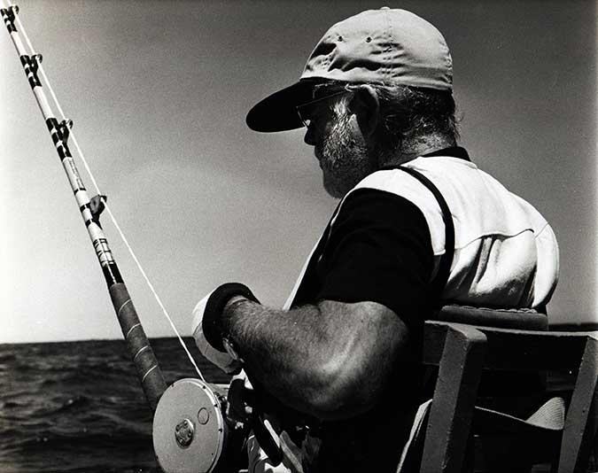 hemingway pescando