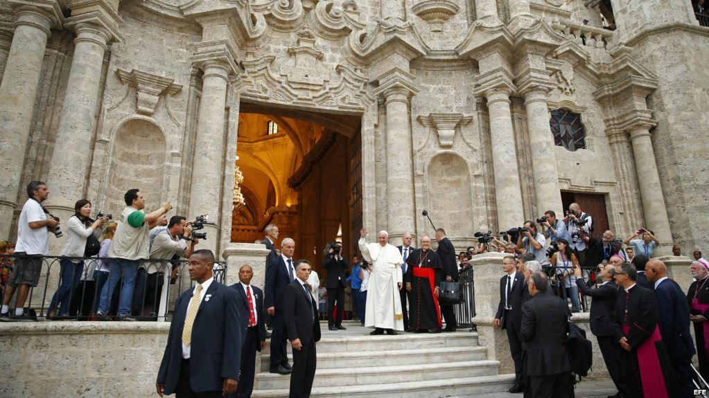 Catedral de La Habana Papa Francisco