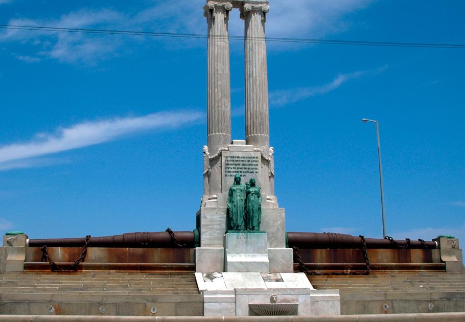Monumento víctimas Maine en La habana