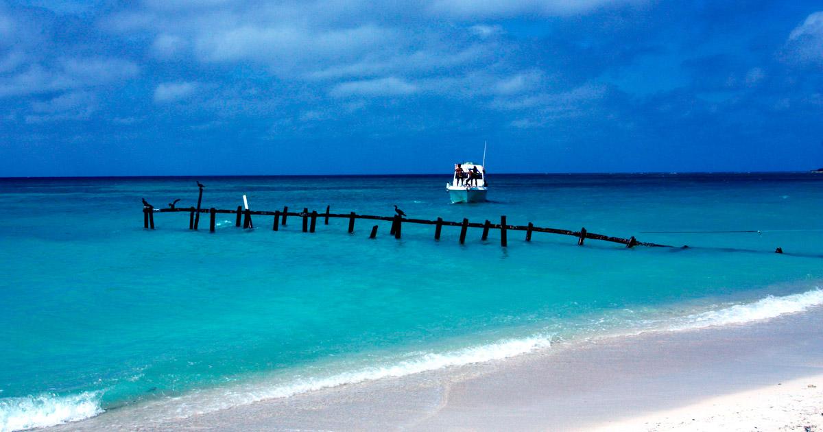 Playa Ancón en Cuba