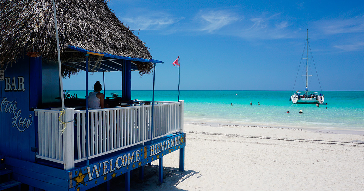 Playa Pilar en Cayo Guillermo