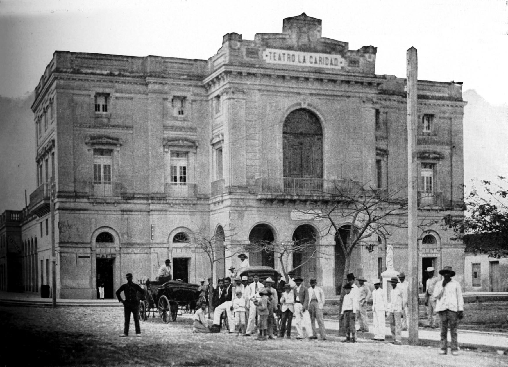 teatro la Caridad 1899