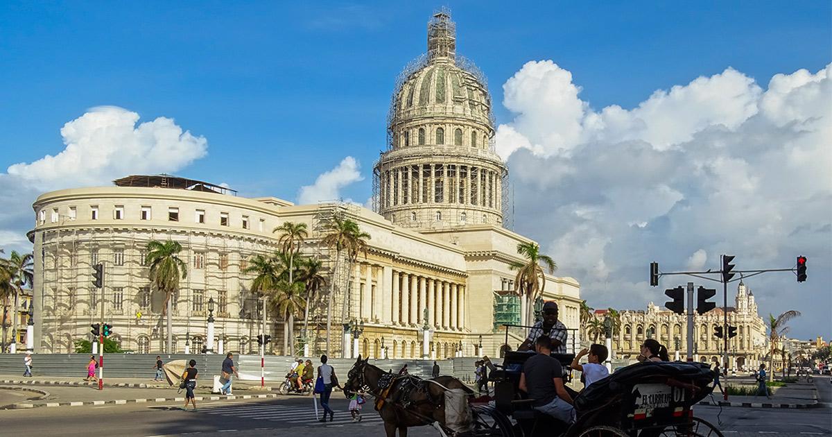 Capitolio en reformas