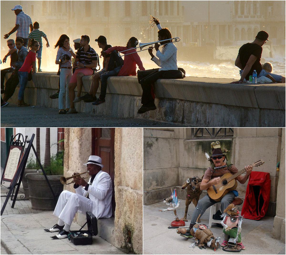 collage musica habana