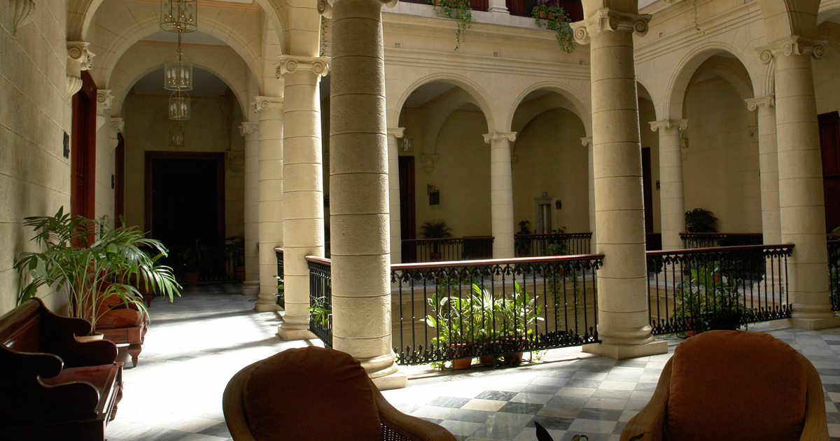 Palacio Farrill por dentro