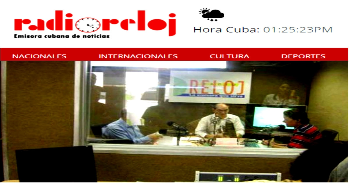 Image result for Radio Reloj, Cuba