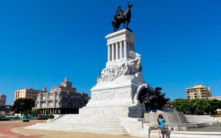 Estatua Máximo Gómez en La Habana
