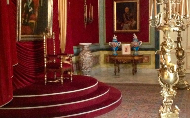 Trono del Rey en Cuba